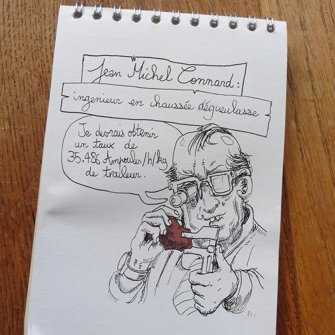 JM connard